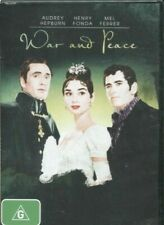 War and Peace DVD Postage Within Australia Region 4