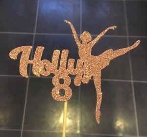 Personalised Ballet Dancer Cake Topper