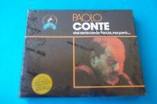 """PAOLO CONTE """" STAI SERIA CON LA FACCIA, MA PERO'...."""" DOPPIA MUSICASSETTA K7 SIG"""
