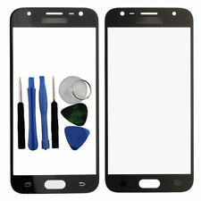 For Samsung Galaxy J3 2017 Front Glass Screen Outer Lens Cover Black J330 Tools