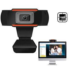 Webcam Camera HD 1080P Auto Focus USB 2.0 w/ Microphone for PC Laptop Desktop