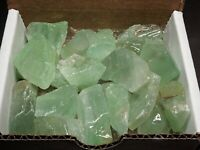 Green Calcite Collection 1/2 Lb Gemstones Natural Bright Color Mineral Specimens