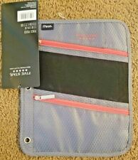 Brand New with Tags Five Star Mead Three Ring Binder Pencil Pouch Zipper Colors