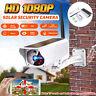 Solar Security Camera HD 1080P WIFI Night Vision Waterproof Wireless PIR Alarm