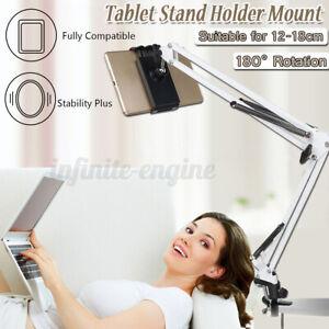Long Arm Bed Desk Lazy Bracket Clip for Smart Phone Holder Tablet Stand Mount AU
