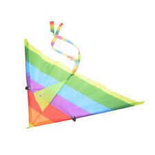 Rainbow Kite Outdoors Baby Toys For Kids Kites without Control Bar and LineHCUK