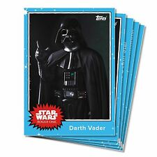 TOPPS Star Wars 5 Cards Rogue One Mission Briefing Monday Set 7 Jyn Darth Vader