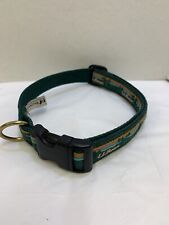 New listing Ll Bean Size Large Dog Collar Buckle Hiking - Usa - Green - Mountains Rare