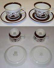 Esteri Tomula Katrilli Coffee / Tea Cups & Saucers Arabia Finland Ulla Procope