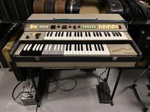 Vintage Farfisa Compact Duo Organ with F/AR Reverb Box