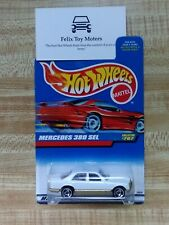 Hot Wheels: Mercedes 380 SEL (1998 Mainline Collection) (White)