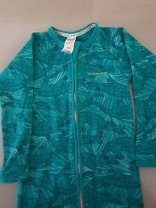 Bonds green Ribbed crocodile Zip Wondersuit Size 3 very good condition free post