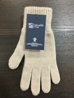Men's Pure Cashmere Gloves | Johnstons of Elgin | Made in Scotland | Cream
