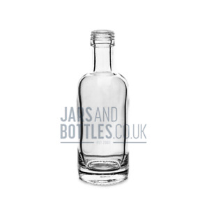 100ml Spirit 'Polo' Bottle perfect for Vodka & Sloe-Gin (inc caps)