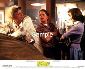 Back to the Future (1985) - 8x10 Lobby Card 8 - Reproduction
