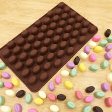 Mini Coffee Bean Shape Silicone Mould Cake-Chocolate Candy Ice Baking Mold