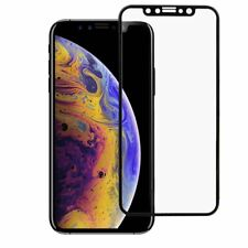 Full Tempered Glass 3D Curved LCD Screen Protector Black For iPhone 11 Pro X XS