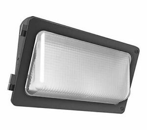 RAB W34-55L 50W 5000K LED Wallpack 0-10V Dimmable, 5375 Lumens Replaces 175W MH