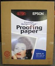 Epson Dupont Inkjet Proofing Paper Super A3 13 x 19 / 100 Sheets