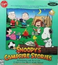 Snoopy's Campfire Stories Pc Cd kids Peanuts cartoon wild camping adventure game