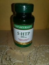 Nature's Bounty 5 HTP 100mg 60 Capsules Exp 7/21