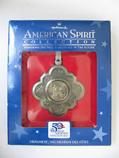 "NEW Hallmark US American Spirit ""Massachusetts"" Yr. 2000 State Quarter Ornament"