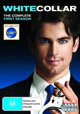 White Collar : Season 1 (DVD 4-Disc Set) Region 4 Very Good Condition