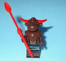 """COLLECTIBLE MINIFIGURE Lego Series 6 """"MINOTAUR w/Red Horns"""" as shown NEW 8827"""
