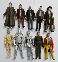Doctor Who the10th 7th 1th 11 TH 4TH 6th HUMANOID AXON Brigadier Cyberman Planet