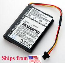 NEW Battery TomTom XXL GPS 1100mAh 530S 535T 540T 550T 540TM 550TM 550M 540M 550