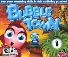 Bubble Town PC Games Windows 10 8 7 XP Computer puzzle arcade bubble bobble NEW