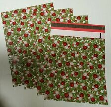 (10) 10x13 Designer Christmas Mailers Poly Shipping Envelopes Boutique Bags