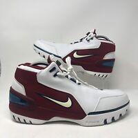 Nike Air Zoom Generation Lebron First Game Size 14  PE VII 8 308214-112 B GRADE