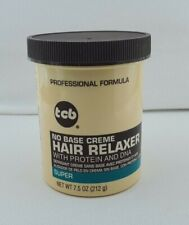 TCB NO BASE CREME HAIR RELAXER SUPER 7.5.OZ