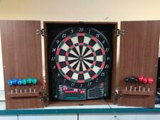 Halex Nitro LTX Pro Series 5400 Electronic Dartboard in Wood Cabinet