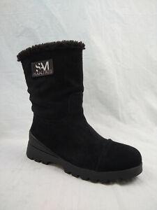 Sam Edelman Kaylie Black Suede Waterproof Winter Boots Women's Size 7 M US