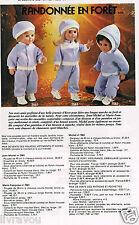 ▬► Page Poupée Michel et Françoise  Modes et Travaux 12/1980