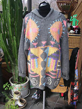 SUPER FUNKY VINTAGE ABSOLUTELY NO! JEANS OVERSIZED HOODED SWEATER