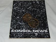 Vintage: Consol News: 100th Anniversary Edition Magazine.. 1964..