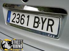 Honda Jazz Race Sport Quattro Number Plate Surround ABS Plastic