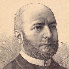 Portrait XIXe Francisco J. Ortiz Salta Argentina Argentine Relaciones Exteriores