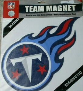 Tennessee Titans * LEFT FACING * 12 INCH MAGNET ! FREE SHIPPING ! FAST SHIPPING
