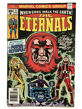 ETERNALS #5 9.4 NM Unread News Stand Fresh 1976 1st app Domo Makkari Thena Kirby