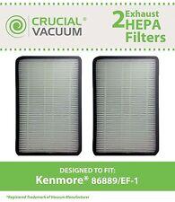 2 Kenmore 86889 EF-1 Vacuum Filters 86889 40324 MC-V194H 80007 53295 20-53295