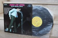 LP  jerry lee lewis - rockin' rhythm & blues (sun 107) USA