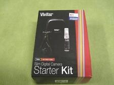 NEW Vivitar SK-100 Slim Digital Camera Starter Kit K1