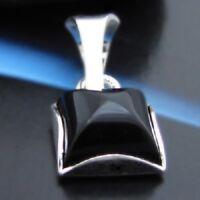 Onyx Silber 925 Anhänger Sterlingsilber Damen Schmuck A105
