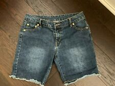 Girl's Juicy Couture Blue Jeans Shorts Size 16