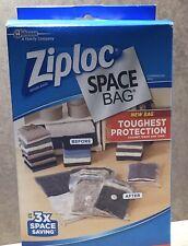 Ziploc Space Bag 'Toughest Protection'  2 Large Flat Bags