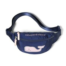 Vineyard Vines for Target Pink Whale Fanny Pack - Navy